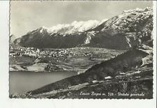 LEVICO  BAGNI VEDUTA GENERALE VECCHIA CARTOLINA SPEDITA 1957