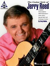 The Guitar Style of Jerry Reed Sheet Music Guitar Tablature Book NEW 000694892