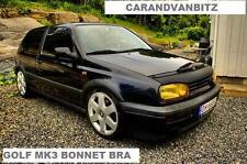 VW GOLF MK3 VR6 GTI BONNET BRA BLACK