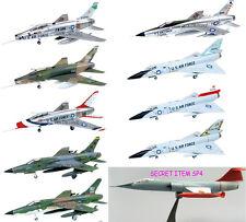 1/144 Century F-106A F-100D F-105D Thunderchief Super Sabre F-Toys Set 9pcs+Sp4