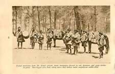 1920 Bhutan Phari Dzong Kings Private Musicians