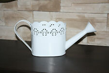 METAL ''lace''  watering CAN  VINTAGE SHABBY  WEDDING TABLE DECORATION