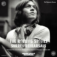 THE ROLLING STONES SURREY REHEARSALS CD ALBUM MY HOME IS A PRISON HARD ROCK