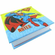 SUPERMAN LARGE MEMO BLOCK NOTE PAPER PAD PHONE OFFICE MAN OF STEEL COMICS