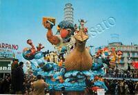 Cartolina di Viareggio, carro di carnevale - Lucca, 1968