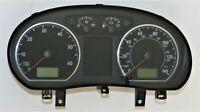 VW Polo 1.4 16V BBY Speedo Clock Gauges 140 mph Chrome Speedometer 6Q0920940