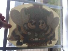 Vintage Bee Healthy Eat Your Honey Fight Club Iron-On Transfer Original