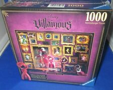 RAVENSBURGER DISNEY VILLAINOUS CAPTAIN HOOK 1000 PC. PUZZLE, NEW SEALED IN BOX