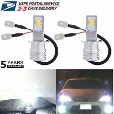 2x H3 LED Fog Lights Headlight Conversion Kit Bulb Lamp Super Bright 6000K White