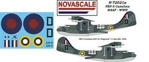 RAAF Decals PBY-5 Catalina Mini-Set 1/72 Scale N72021a