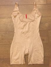 SPANX Slimplicity 991 OPEN BUST BODYSUIT NUDE sz S SMALL NWT