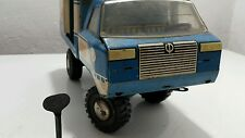 VINTAGE TRUCK TIN TOY WIND UP URAL WATER CARRIER DELIVERY SERVICE USSR 70's CCCP