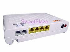 ZTE GPON terminal  F617 With 4 lan + 2 voice ports,same function as F620 V5