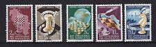 Postfrische Briefmarken aus Jugoslawien mit Schach-Motiv