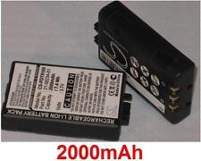 Batterie 2000mAh type 21-58234-01 LX8146 Pour Symbol PPT2700-2D