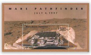 USA 1997 Mars Pathfinder's Land Rover Sojourner Stamp Miniature Sheet Mint MUH