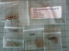 Pocher 1/8 2 mm Nuts 1 mm Washers + Bolts Hardware Lot By Modelmotorcars