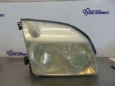 Nissan X-Trail T30 01-07 Drivers Right front headlight Light + Bulb Holder