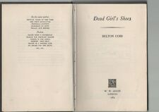 BELTON COBB DEAD GIRL'S SHOES W H ALLEN FIRST EDITION HARDBACK 1964