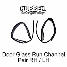 1971 1972 1973 1974 1975 1976 1977 1978 Chevy / GMC Van Door Glass Run Channels
