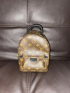 LOUIS VUITTON PALM SPRINGS MINI MONOGRAM BACKPACK