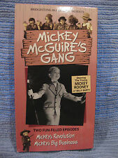 Mickey McGuire's Gang (VHS) two episodes NEW