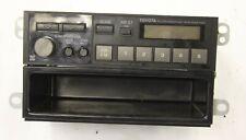 1987 Toyota Camry Celica MR2 Tercel oem am fm radio stereo  86120-32210   87