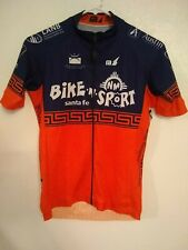 Santa Fe NM Bike N Sport Team Full Zip Vented Aero Jersey S Small