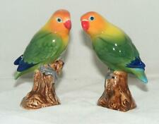 Quail Ceramics Fischers Love Birds Salt & Pepper Set 3142
