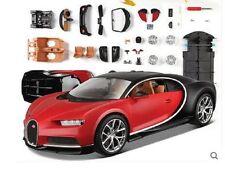 Maisto 1:24 Bugatti Chiron Assembly DIY Diecast Model Racing Car Vehicle Toy NIB