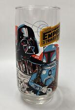 1980 The Empire Strikes Back Coke Burger King Glass Darth Vader & Boba Fett #2