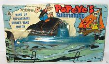 "POPEYE sous-marin sous-marin base jouet ""WIND UP..."" Larami-env. 16 cm (k28)"