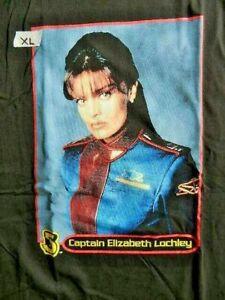 "Babylon 5 ""Captain Elizabeth Lochley"" Double Sided Mens xL Unisex T-Shirt - New"