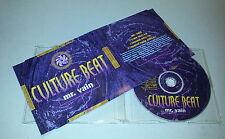 Single CD  Culture Beat - Mr. Vain  1993  3.Tracks  MCD C 2