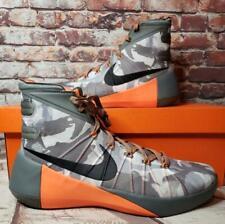 NIKE Hyperdunk 2015 Mens Athletic Basketball Sneakers 12.5 Camo Grey 749567-001