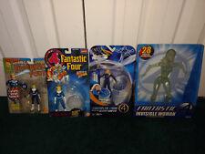 "Invisible Woman Fantastic Four Marvel ToyBiz LOT 12"" Power Laucher Force Shield"