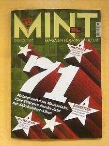 Mint - Magazin für Vinyl-Kultur Nr. 45 Ausgabe 05/21 Titel: 1971