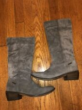 Diesel Brushed Suede Cowboy Mid-Calf Boots
