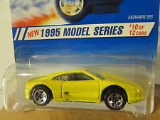 Hot Wheels Ferrari 355 1995 Model series Yellow 5sp