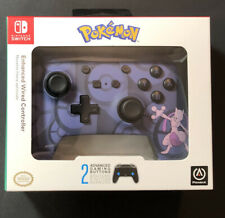 Nintendo Switch Enhanced Wired Controller [Mewtwo Édition] Neuf
