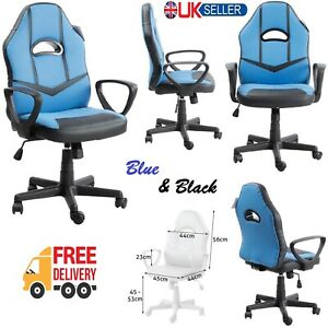 Racing Gaming Chair Swivel Recliner Computer Desk Chairs Executive Office Home.