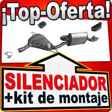Silenciador Trasero FIAT BARCHETTA 1.8i 130 HP hasta 2000 Escape 2B9