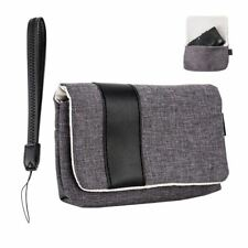 JJC CB-R1GR Microfiber Camera Pouch Soft Case for Sony RX100 I-VI,G7X MK3- Grey