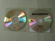 MADONNATRON job lot of 2 promo CDs Tron