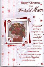 MAM Natale Card. buon Natale a una meravigliosa MAM 3 scheda piega.