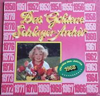 Das goldene Schlager Archiv / Die Hits des Jahres 1968 LP Vinyl NM !