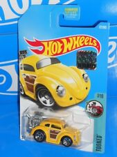 Hot Wheels 2017 Factory Set Tooned Series Volkswagen Beetle Yellow