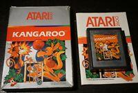 Kangaroo (Atari 2600, 1983) Complete In Box CIB
