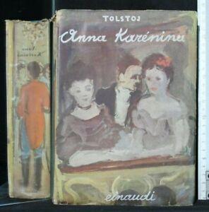 ANNA KARENINA. Tolstoj. Einaudi.