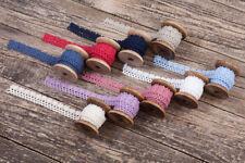 Vintage Spitzenband, Borte, Klöppelspitze 100% Baumwolle (ohne Spuhle) 2cm Breit